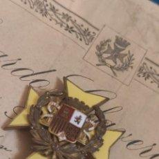 Militaria: CRUZ DE SANIDAD ÉPOCA DE LA REPUBLICA. Lote 277557598