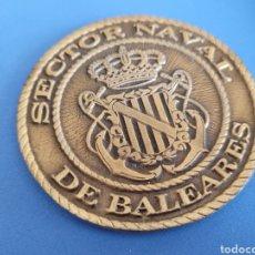 Militaria: MEDALLA DE MANO MILITAR NAVAL - SECTOR NAVAL BALEARES. Lote 277654223