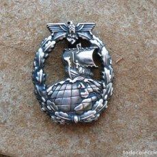 Militaria: INSIGNIA DE CRUCERO AUXILIAR. KRIEGSMARINE 3 REICH. Lote 277753683