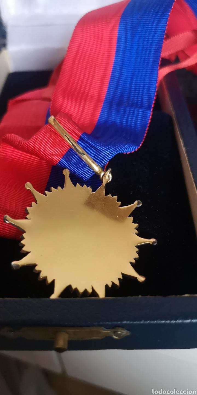Militaria: Encomienda de la Orden de Bernardo OHiggins Chile, plata bañada en oro con su estuche - Foto 3 - 277761658