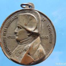 Militaria: FRANCIA. LLAVERO / MEDALLA. BICENTENARIO DEL NACIMIENTO DEL EMPERADOR. 1769-1969.. Lote 278224173
