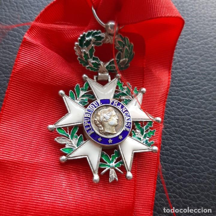 MEDALLA DE LA LEGIÓN DE HONOR FRANCESA (Militar - Medallas Internacionales Originales)