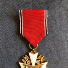 Militaria: ORDEN DEL AGUILA ALEMANA. VERDIENSTORDEN VOM DEUTSCHEN ADLER. 2ª CLASE. CON ESPADAS.. Lote 278530643