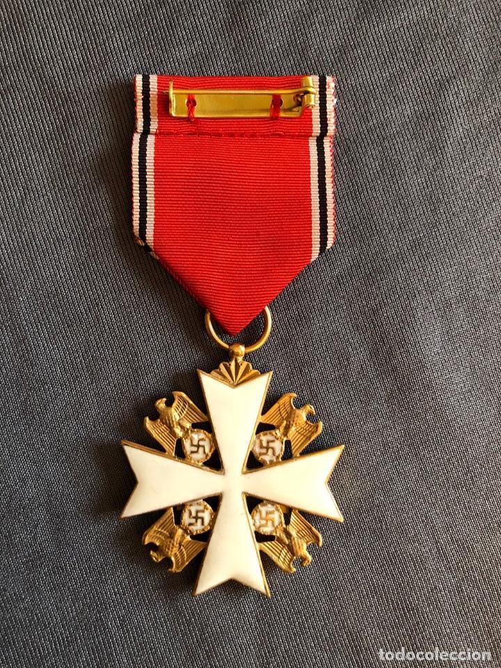 Militaria: ORDEN DEL AGUILA ALEMANA. Verdienstorden vom Deutschen Adler. 2ª Clase. Con espadas. - Foto 2 - 278530643
