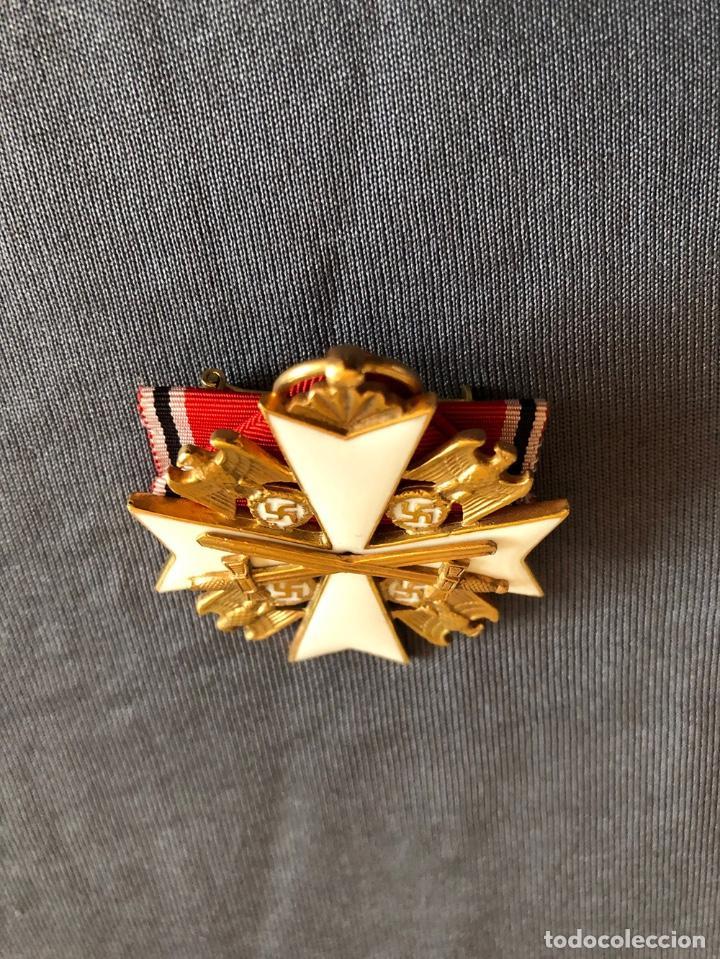 Militaria: ORDEN DEL AGUILA ALEMANA. Verdienstorden vom Deutschen Adler. 2ª Clase. Con espadas. - Foto 7 - 278530643