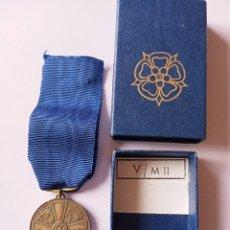 Militaria: MEDALLA DE BRONCE DE LA ORDEN DE LA ROSA BLANCA DE FINLANDIA. Lote 278803878