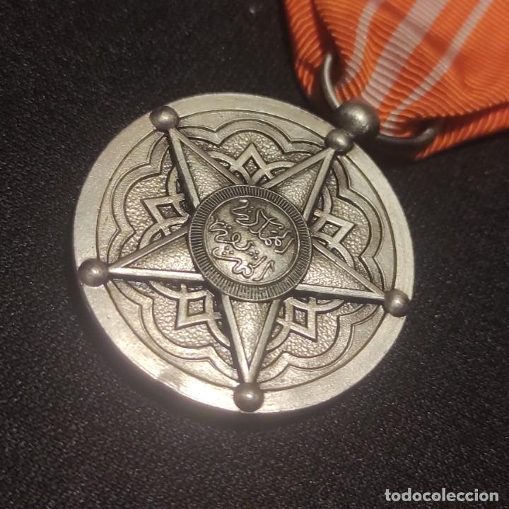 Militaria: Medalla de mérito de Marruecos - Foto 2 - 278842963
