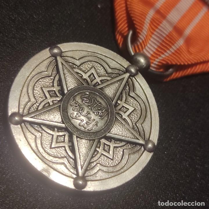 Militaria: Medalla de mérito de Marruecos - Foto 3 - 278842963