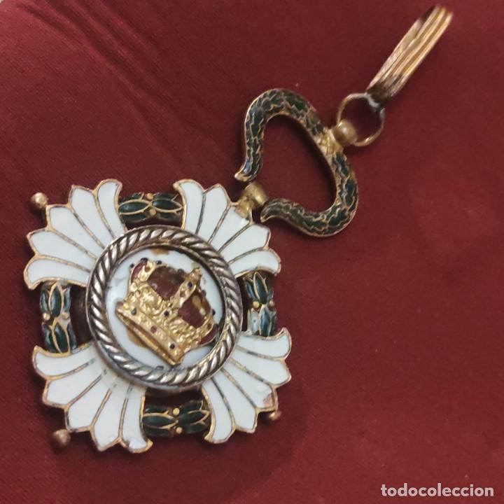 ORDEN DE LA CORONA DE YUGOSLAVIA (Militar - Medallas Internacionales Originales)