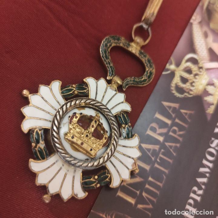 Militaria: Orden de la corona de Yugoslavia - Foto 3 - 278843658