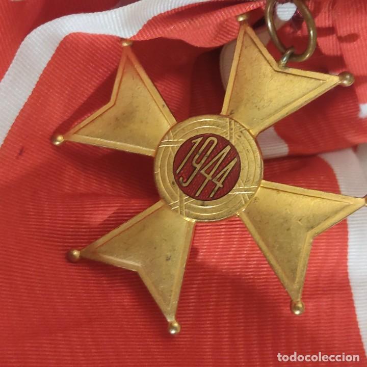Militaria: Banda gran cruz Orden de Polonia Restituta - Foto 3 - 278845083