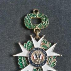 Militaria: RÉPLICA MEDALLA DE OFICIAL DE LEGIÓN DE HONOR DE LA REPÚBLICA FRANCESA HONNEUR ET PATRIE 1870. Lote 278949823