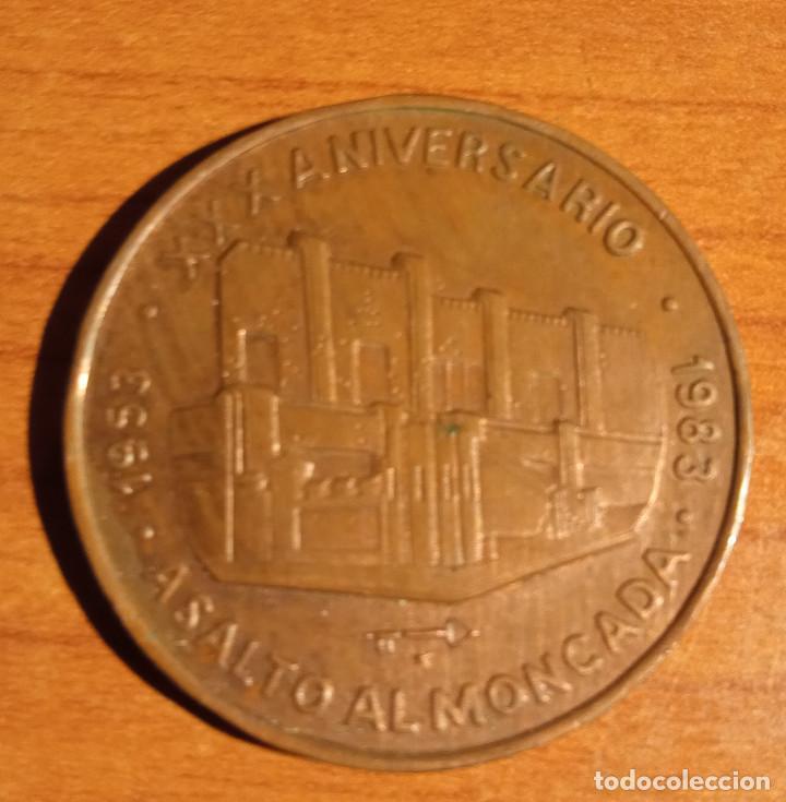 XXX ANIVERSARIO 1953-1983 ASALTO AL MONCADA.GRANJA SIBONEY (Militar - Medallas Internacionales Originales)