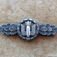 Militaria: CIERRE DE BOMBARDERO.BOMBERVERSCHLUSS (SILBER). Lote 279475258