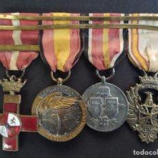 Militaria: PASADOR DE GALA DE LA DIVISIÓN AZUL ORIGINAL 100 X 100 NO MONTAJE. Lote 282252438