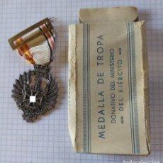 Militaria: MEDALLA DE LA DIVISIÓN AZUL EN CAJA. Lote 273939313