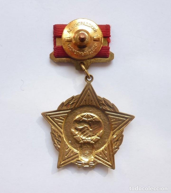 Militaria: Rusia - URSS - Medalla combatientes internacionalistas (Afganistán, Brigadas Internacionales...) - Foto 2 - 284754658