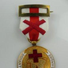 Militaria: MEDALLA CRUZ ROJA. DONANTE DESINTERESADO DE SANGRE. Lote 285234608