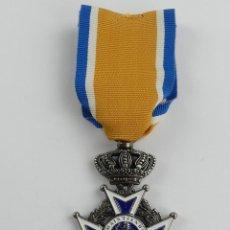 Militaria: MEDALLA DE HOLANDA ORDEN DE ORANGE GOD ZY MET ONS. Lote 285236168