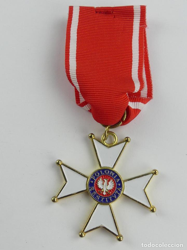INSIGNIA ORDEN DE POLONIA RESTITUTA 1944 (Militar - Reproducciones y Réplicas de Medallas )