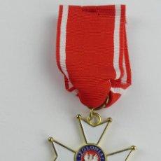 Militaria: INSIGNIA ORDEN DE POLONIA RESTITUTA 1944. Lote 285237688