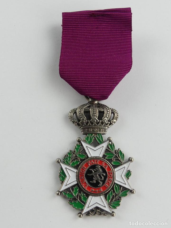 MEDALLA L UNION FAIT LA FORCE LA UNIÓN HACE LA FUERZA (Militar - Reproducciones y Réplicas de Medallas )
