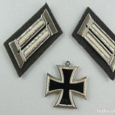 Militaria: MEDALLA MILITAR CRUZ DE HIERRO. 1813- 1939 Y INSIGNIAS EJÉRCITO ALEMAN. ESVASTICA NAZI. Lote 285238178