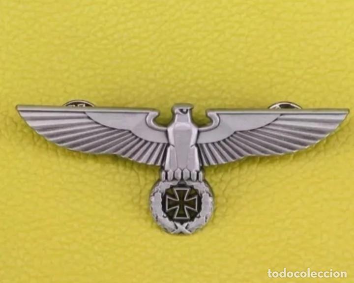 PIN ALEMANIA NAZI - III REICH - ÁGUILA ALEMANA CON ESVÁSTICA (Militar - Reproducciones y Réplicas de Medallas )
