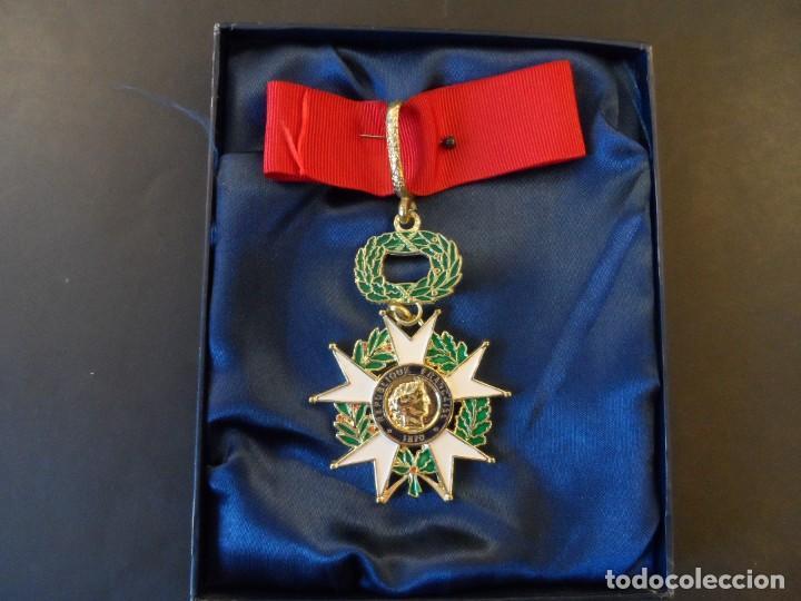 MEDALLA COMANDANTE DE LA LEGION DE HONOR. REPUBLICA FRANCESA. REPUBLICA FRANCESA. REPLICA. SIGLO XX (Militar - Reproducciones y Réplicas de Medallas )