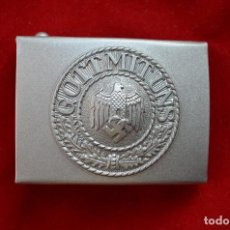 Militaria: WWII THE GERMAN BUCKLE WEHRMACHT STEEL. Lote 287170438