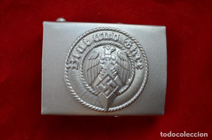 WWII THE GERMAN BUCKLE HITLERJUGEND STEEL (Militar - Reproducciones y Réplicas de Medallas )