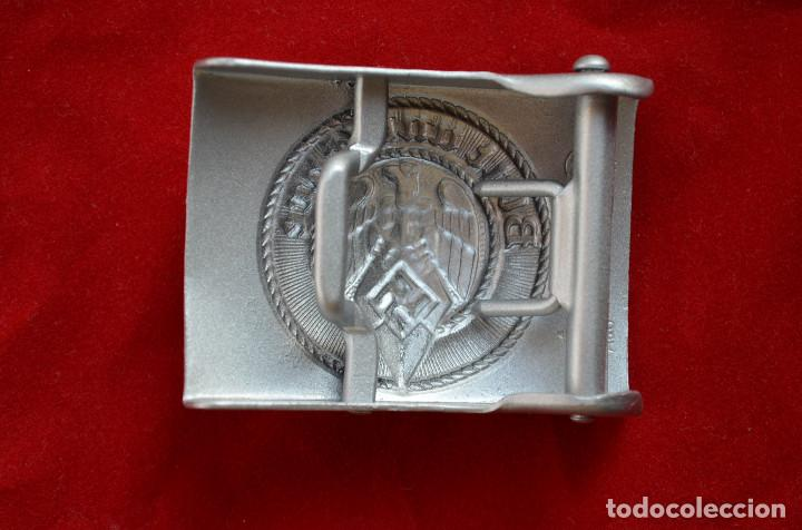 Militaria: WWII THE GERMAN BUCKLE HITLERJUGEND STEEL - Foto 2 - 287170548