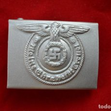 Militaria: WWII THE GERMAN BUCKLE WAFFEN SS STEEL. Lote 287170618