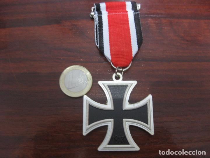 Militaria: CRUZ HIERRO 2 CLASE IRON CROSS 2 CLASS EISERNE KREUZ 2 KLASSE 1939 INSIGNIA MEDALLA NAZI - Foto 2 - 287178383
