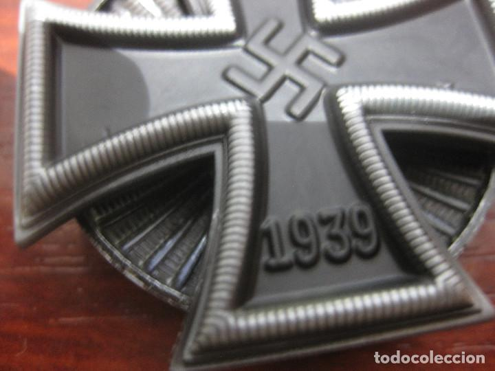 Militaria: CRUZ HIERRO 1 CLASE IRON CROSS FIRST CLASS EISERNE KREUZ 1 KLASSE 1939 INSIGNIA MEDALLA NAZI - Foto 3 - 287178478