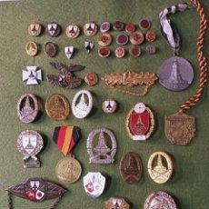 Militaria: LOTE 45 MEDALLAS, INSIGNIAS ALEMANAS .. Lote 287213913