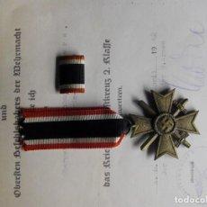 """Militaria: MEDALLA DEL MERITO MILITAR K.V.K. CON ESPADAS Y MARCADA EN ANILLA """"65"""". Lote 287855458"""