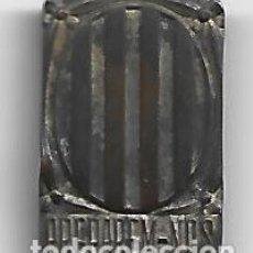 Militaria: (MI-210912)INSIGNIA MILICIAS CATALANAS GUERRA CIVIL PREPAREM-NOS GENERALITAT DE CATALUNYA ORIGINAL. Lote 287916613