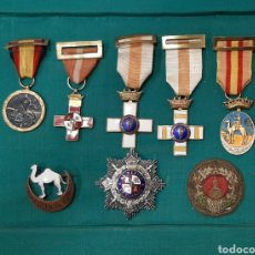 Militaria: LOTE DE MEDALLAS ORIGINALES. Lote 287924183