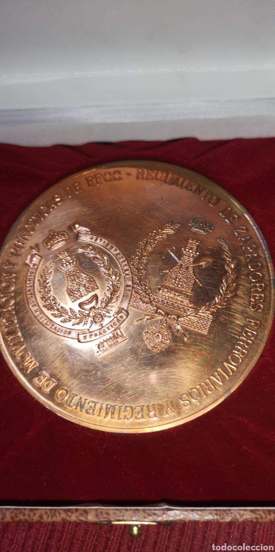 Militaria: Antigua medalla ingenieros ferrocarrriles de los zapadores ferroviarios del Ejército - Foto 2 - 288073063