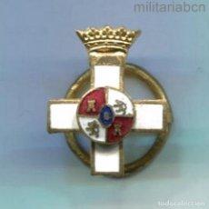 Militaria: ESPAÑA. MINIATURA. ORDEN AL MÉRITO MILITAR. ÉPOCA DE FRANCO. DISTINTIVO BLANCO. Lote 288618908
