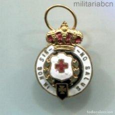 Militaria: ESPAÑA. EPOCA ALFONSO XIII. MEDALLA DE SEGUNDA CLASE DE LA CRUZ ROJA ESPAÑOLA. CON ANILLA.. Lote 288625033