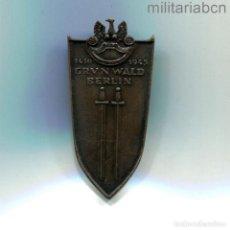 Militaria: REPÚBLICA POPULAR DE POLONIA. INSIGNIA DE GRUNWALD - BERLÍN (1410 - 1945). Lote 288629118