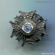 Militaria: ESPAÑA. MINIATURA DE LA PLACA DE LA ORDEN DE SAN HERMENEGILDO. ÉPOCA ALFONSO XIII. Lote 288643223