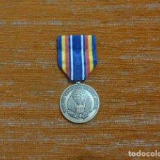 Militaria: ANTIGUA MEDALLA AMERICANA DE GUERRA AL TERRORISMO, WAR ON TERRORISM SERVICE MEDAL. ESTADOS UNIDOS.. Lote 288721163