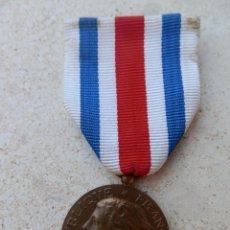Militaria: MEDALLA REPUBLIQUE FRANÇAISE MINISTERE DE LA DÉFENSE 1986. DEVOVEMENT SERVICE.. Lote 293282618