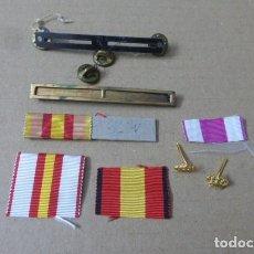 Militaria: MEDALLAS DE PASADOR, PARA RESTAURAR O APROVECHAR..ORIGINALES... Lote 293475163