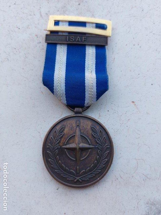 MEDALLA OTAN-ISAF-AFGANISTAN (Militar - Medallas Internacionales Originales)