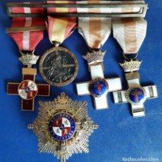 Militaria: (MI-211006)PASADOR DE MEDALLAS GUERRA CIVIL Y MERITO EN CAMPAÑA. Lote 293880188