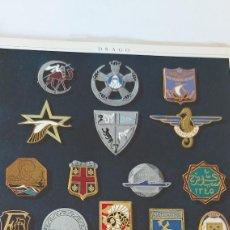 Militaria: LES INSIGNES DANS L'ARMÉE - 1947 - DRAGO PÈRE ET FILS - ÉDITENT LES INSIGNES DE L'ARMÉE FRANÇAISE -. Lote 294090058